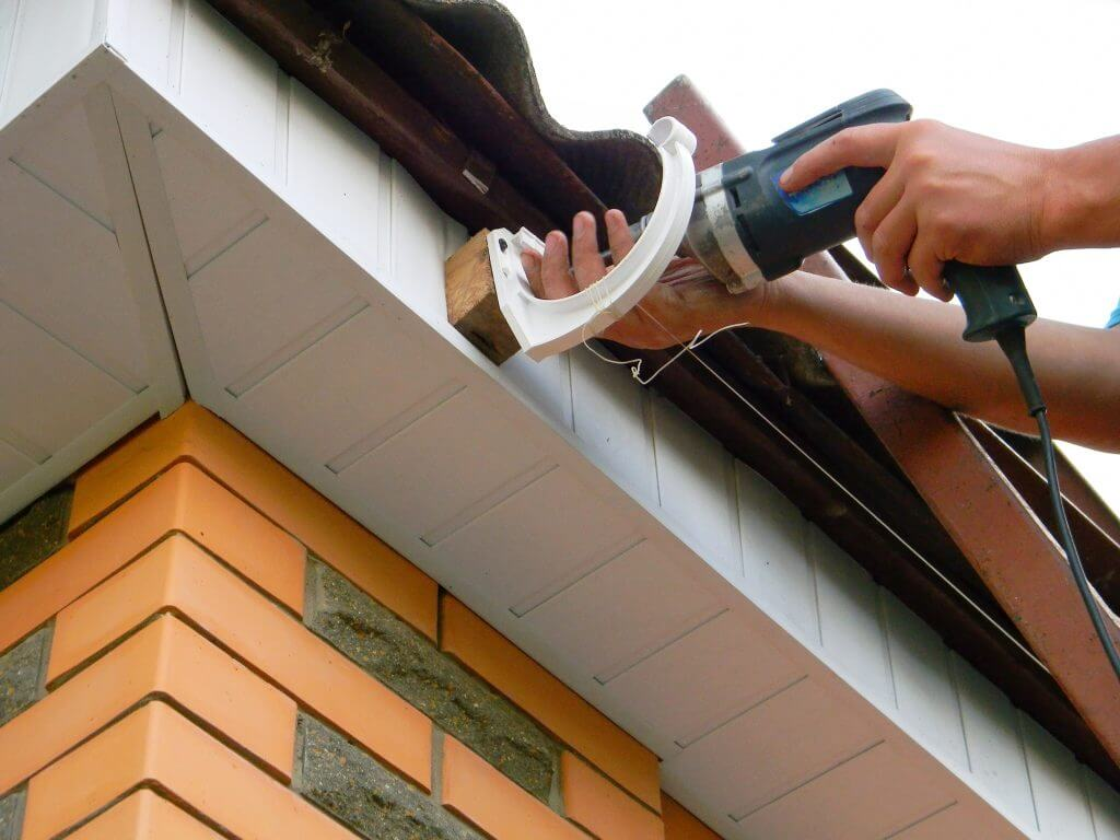 Install Rain Gutters Yukon Roofing Contractors Amp Repair